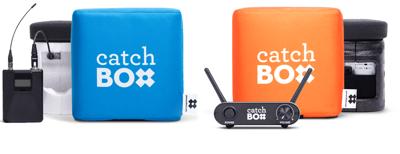 Catch box- házecí mikrofon