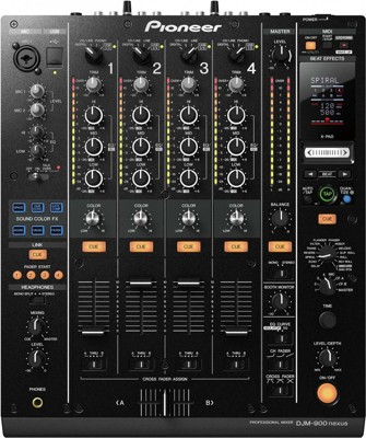 Mix Pioneer DJM 900 Nexus
